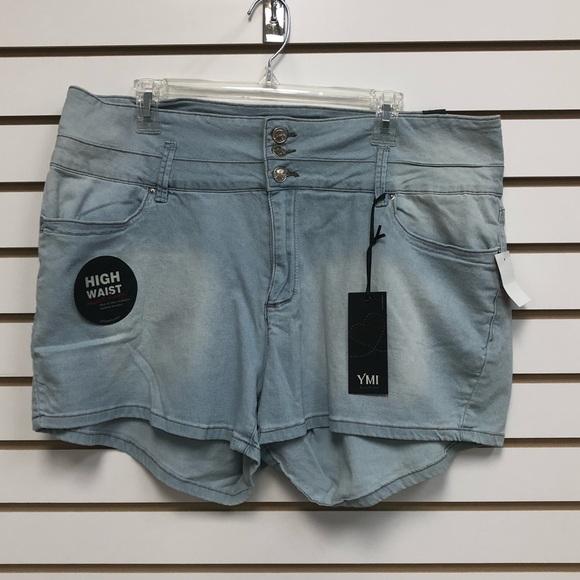 YMI Pants - High waisted shorts